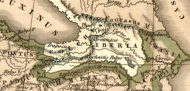 Colchis en Iberië