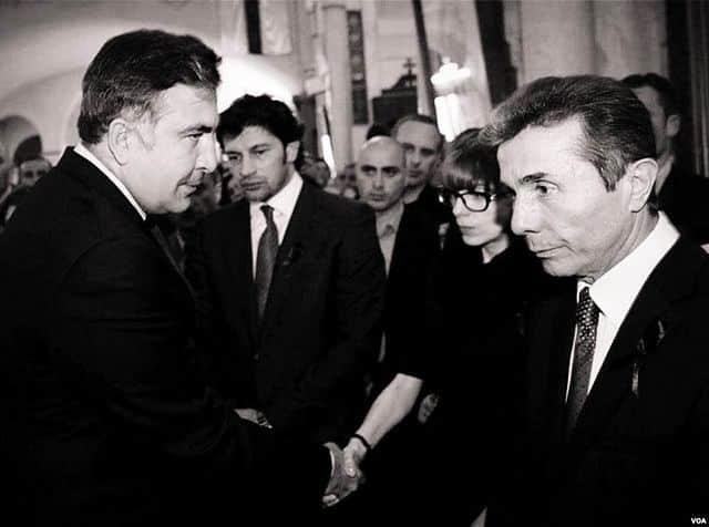Protesten tegen regering Saakasjvili