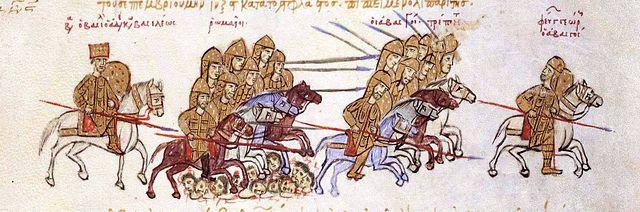 Byzantium en Perzië strijden om Georgië
