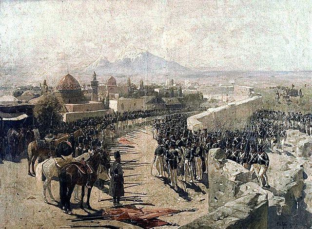 Oost-Armenië wordt veroverd door de Russen