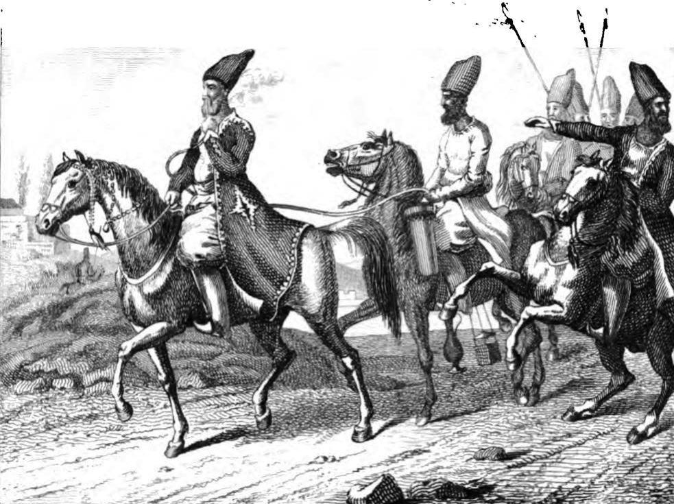 De Perzen en Ottomanen strijden om de Armeense gebieden