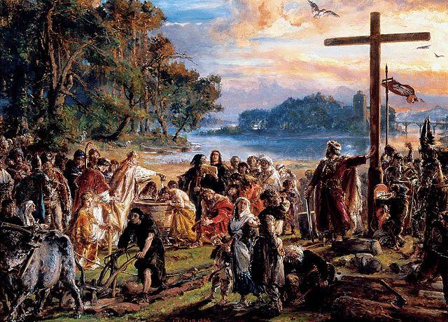 De doop van Polen