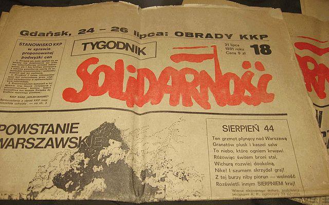 Solidariteit wordt opgericht