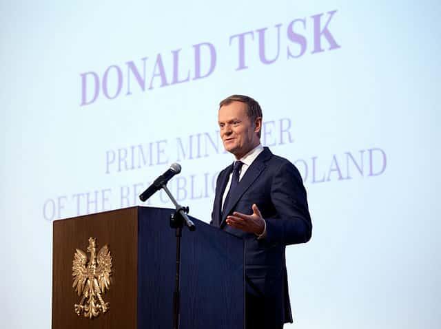 Donald Tusk wordt president van de Europese raad