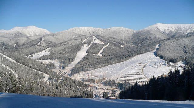 Ski Resort Bukovel, Oekraïne