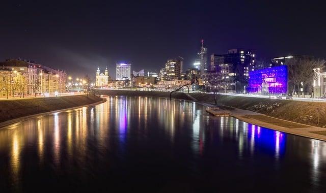 Neris in Vilnius