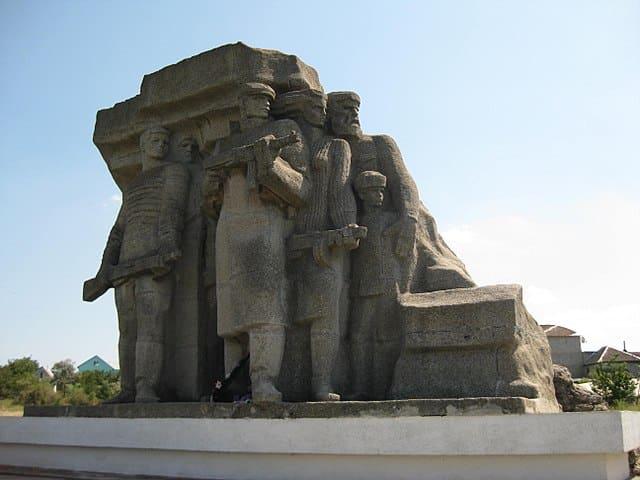 Partizanenmonument bij het Museum of Partisan Glory
