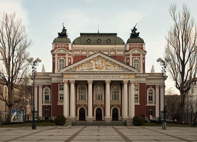 Het nationaal theater van Ivan Vazov
