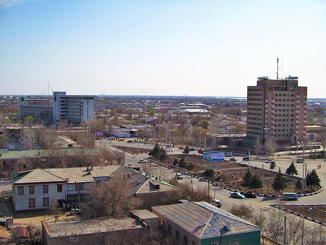 De stad Nukus