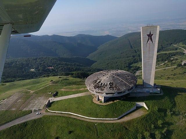 Buzludzha-monument, Bulgarije