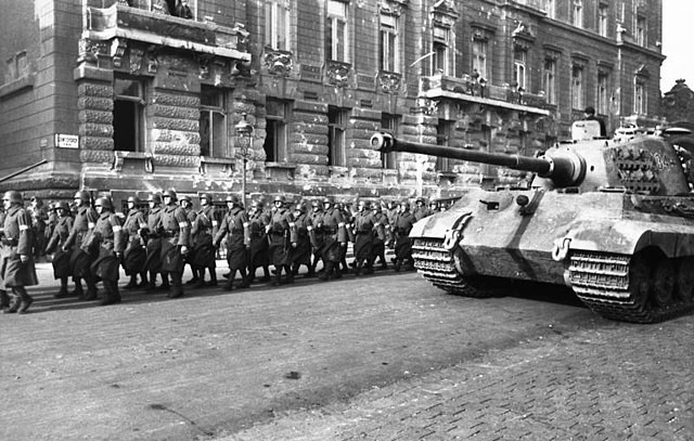 Vooravond Tweede Wereldoorlog
