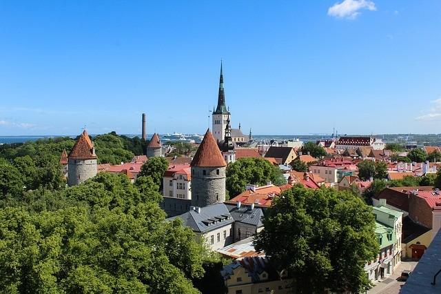 Oude stadscentrum Tallinn