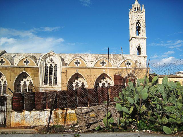 Oude kerk in Varosha