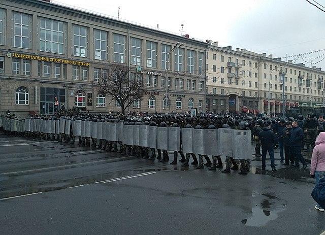 Nieuwe demonstraties tegen Loekasjenko