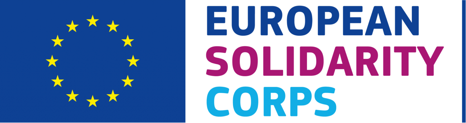 EN European Solidarity Corps LOGO CMYK