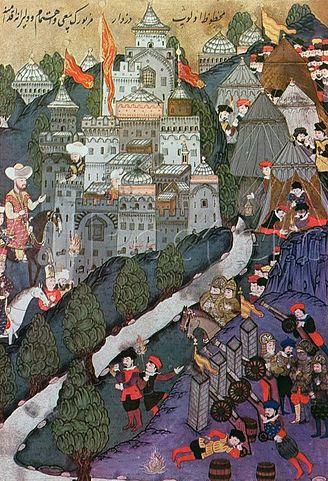 Onderdeel van het Ottomaanse Rijk