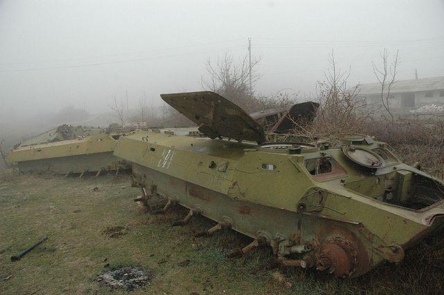 Wapenstilstand in Nagorno-Karabach