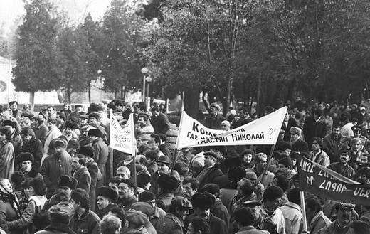 Begin van de oorlog in Nagorno-Karabach