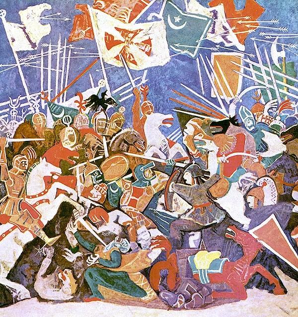 Slag op het Merelveld